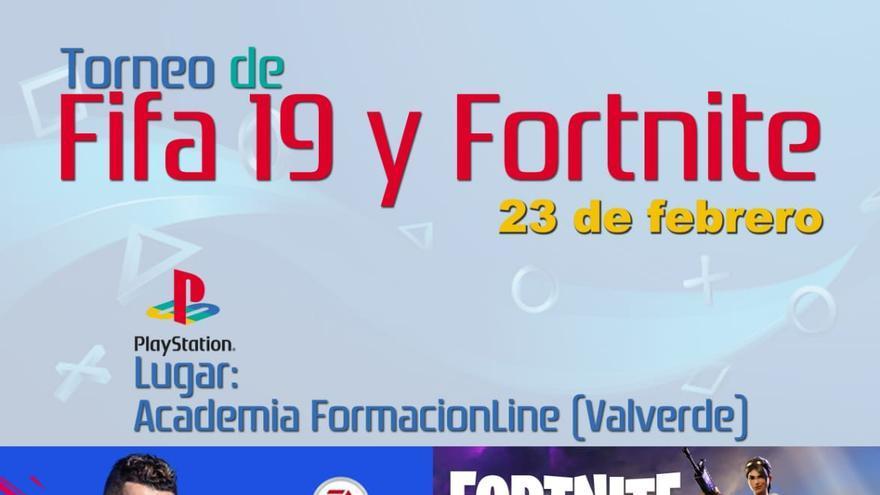 Cartel videojuegos Valverde