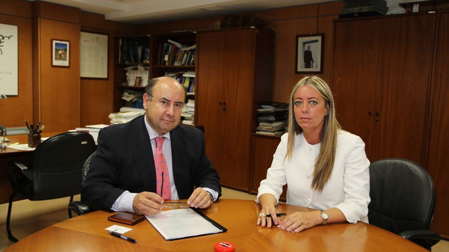 Basilio Rada y María de Haro.