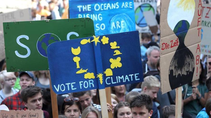 """Fridays For Future """"ha contribuido"""" al auge de los verdes en las europeas"""