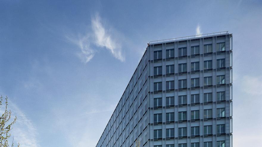 Sede de NRW Bank en Düsseldorf, Alemania.