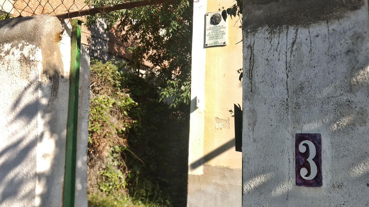 Entrada a Velintonia
