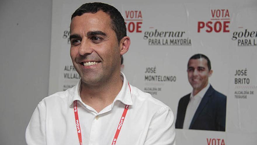 José Montelongo, vencedor en las elecciones al Ayuntamiento de Arrecife / Foto: De la Cruz.