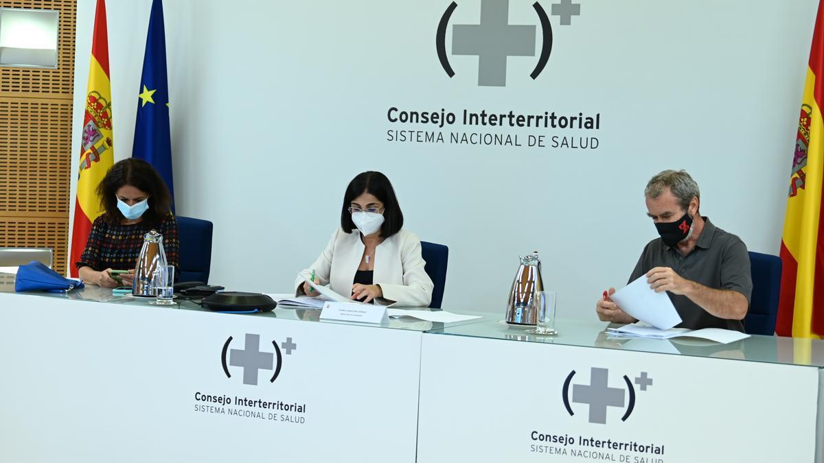 Consejo Interterritorial del Sistema Nacional de Salud celebrado este miércoles