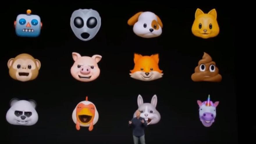 Apple presentó los 'animojis' en la 'keynote' del décimo aniversario del iPhone