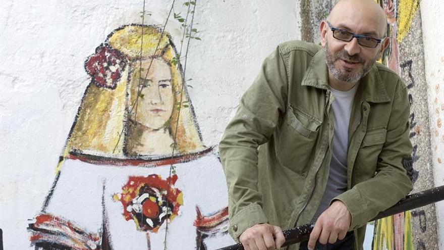 Eduardo Hermida, artista que dio color a un barrio gris llenándolo de Meninas