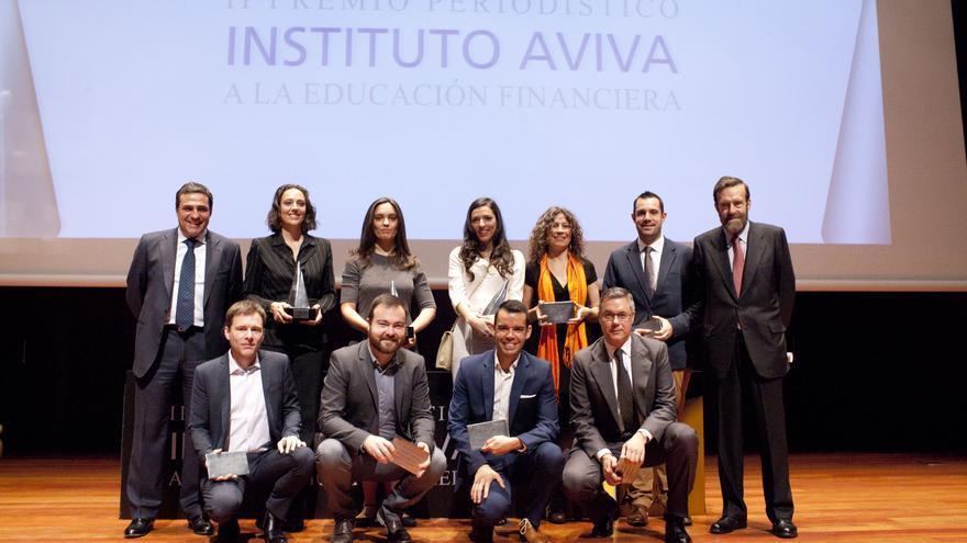 Ganadores y finalistas del Premio Periodístico a la Educación Financiera de los ciudadanos