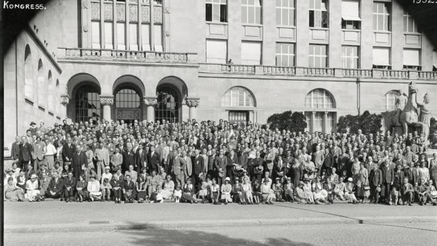 Congreso Internacional de Matemáticos celebrado en Zúrich (Suiza) en 1932.