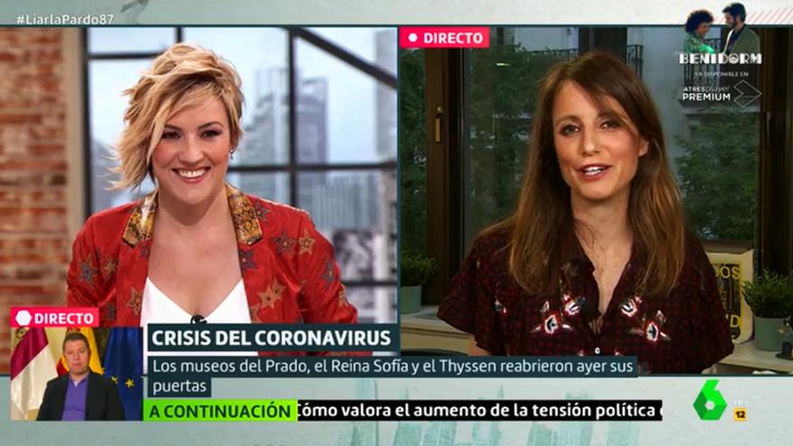 Cristina Pardo y Andrea Levy, en Liarla Pardo