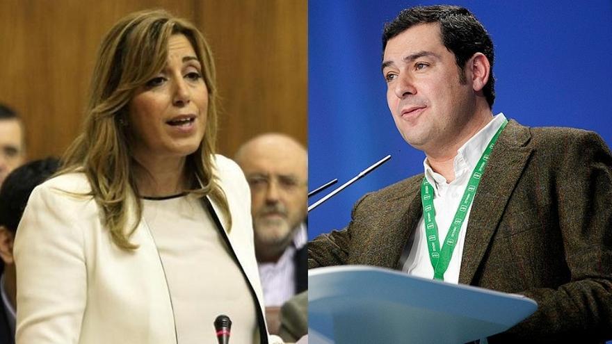 Susana Díaz se reúne este lunes en Sevilla con Juan Manuel Moreno para abordar posibles acuerdos