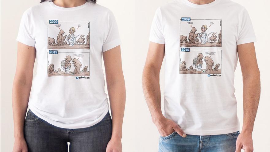 Camiseta De Aguirre Fontdevila Las Esperanza Sobre Viñetas XN8wOn0kP