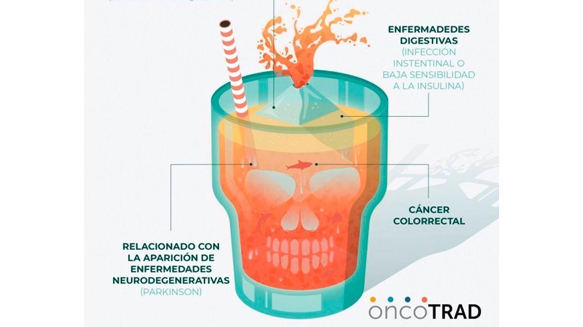 Uno de los diseños elaborados en el proyecto 'Onco-TRAD'.