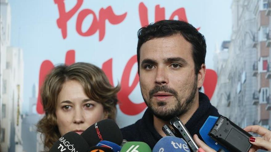 Garzón resta credibilidad al anuncio de Rajoy sobre las exenciones del IRPF