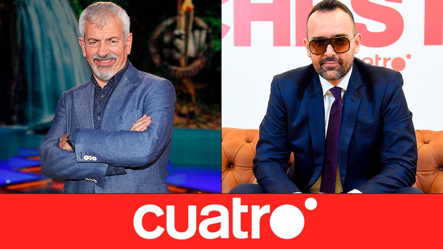 """Mediaset anuncia la """"nueva etapa"""" de Cuatro, con regreso de 'Supervivientes' y Risto en prime time"""
