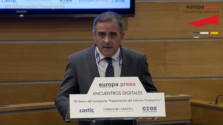El director general de Astic, Ramón Valdivia, durante su participación en los encuentros digitales de Europa Press