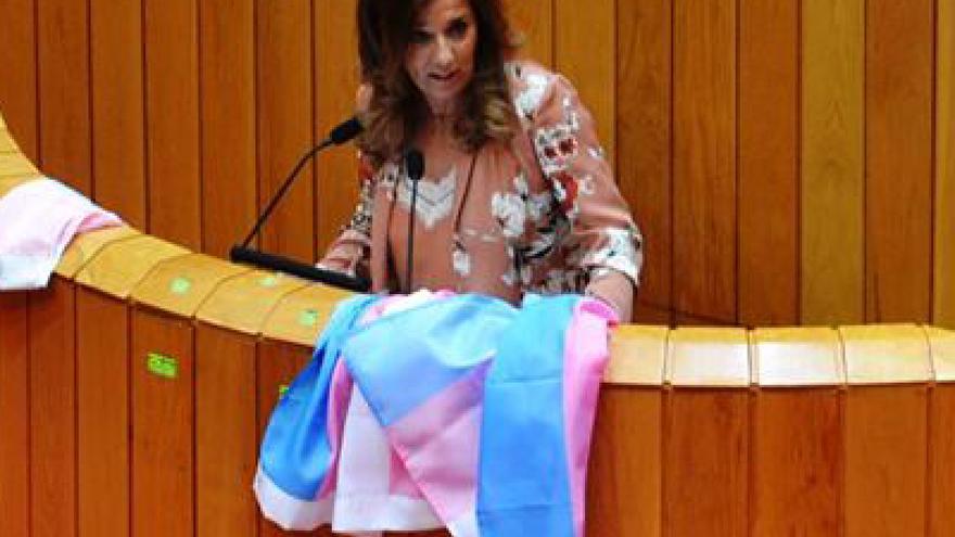 Rodríguez-Vispo (PP), durante el debate