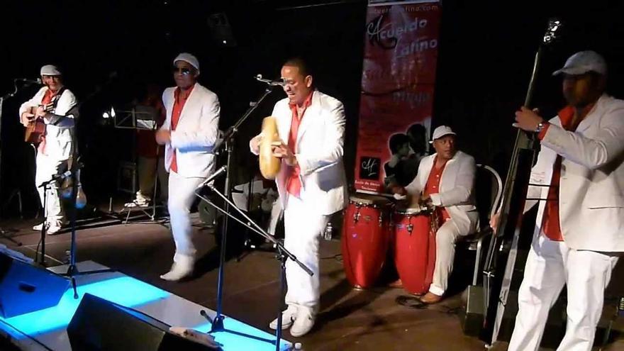 Agrupación musical cubana Septeto Naborí.