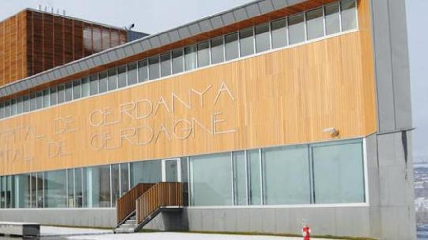 Imatge de l'hospital transfronterer de la Cerdanya.