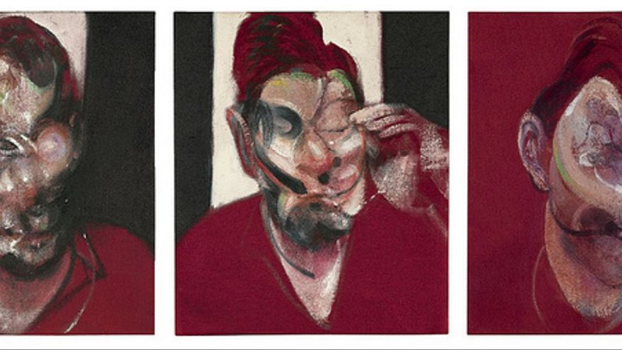 Francis Bacon - Three Studies for the Portrait of Lucian Freud (1964) Foto: cea + / Flickr
