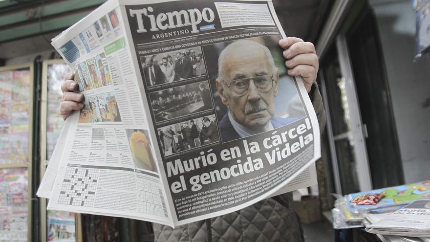 Videla murió en su celda del penal de Marcos Paz, en Buenos Aires, el 18 de mayo de 2013.