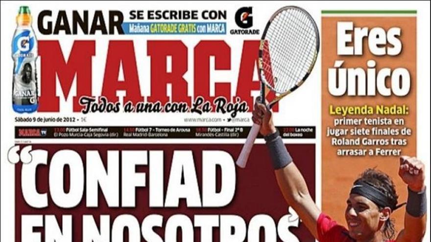 De las portadas del día (09/06/2012) #12