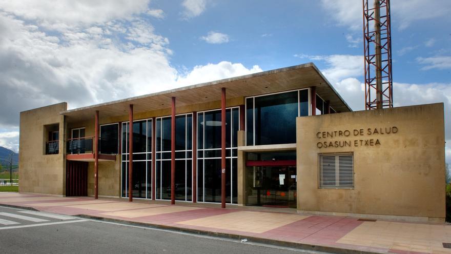 Centro de Salud de Noáin, uno de los centros rurales.