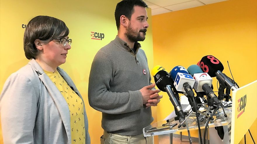 La CUP decidirá el jueves a las 15.00 si apoya la investidura de Turull
