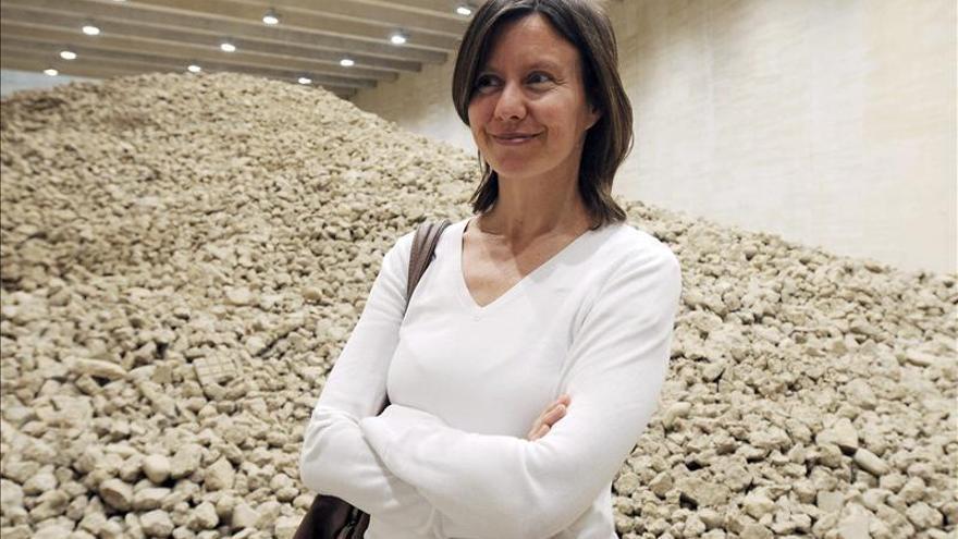 La artista Lara Almarcegui deconstruye el Pabellón Español en Venecia