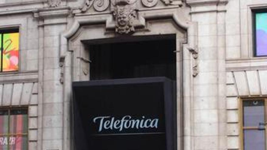 Edificio de Telefónica en Madrid