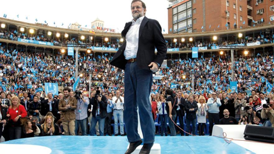 Rajoy en el decisivo acto de la Comunidad Valenciana