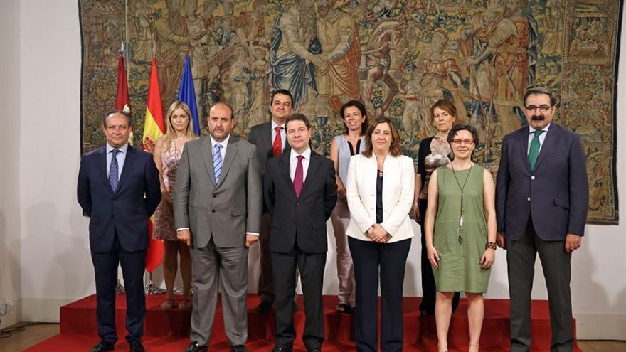 Los consejeros del nuevo Gobierno de Castilla-La Mancha / Foto: JCCM