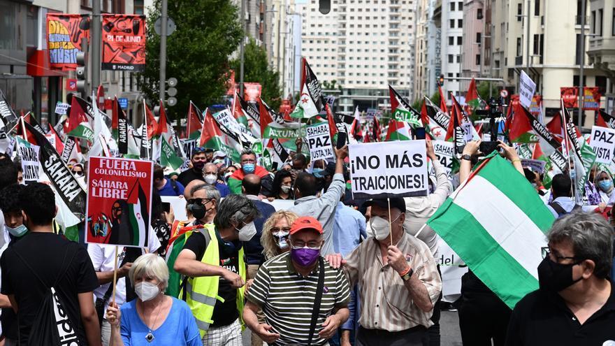 3.000 manifestantes piden que España se comprometa con la libertad del Sáhara