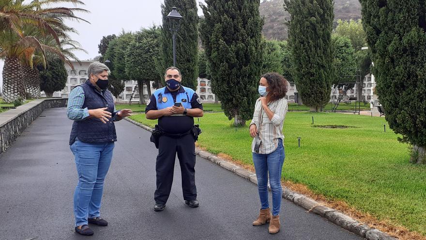 Los Llanos celebra el día de Todos los Santos con estrictas medidas de seguridad anticovid-19