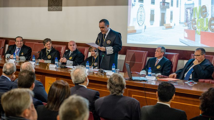José Manuel Niederleytner, en el acto de toma de posesión de su nuevo cargo