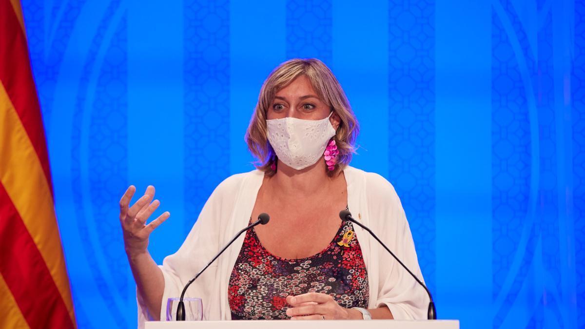La consellera de Salud, Alba Vergés. EFE/ Alejandro García/Archivo