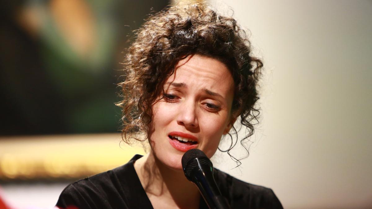 Sheila Blanco en una de sus actuaciones