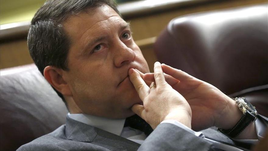 """García-Page considera que """"Pedro Sánchez ha conseguido desencajar a Rajoy"""""""