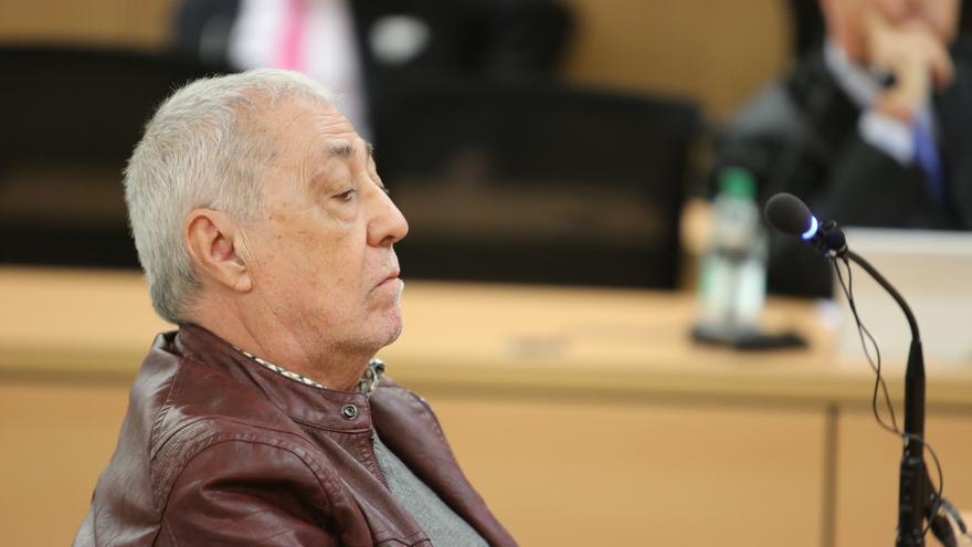 Francisco Gordillo, en el juicio por el caso Faycán. (ALEJANDRO RAMOS)