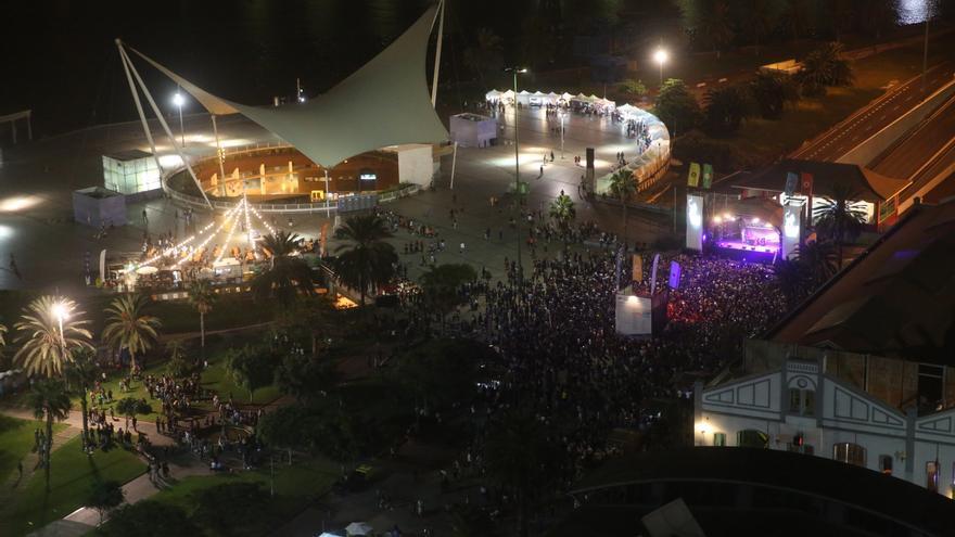Público en el segundo escenario del WOMAD Las Palmas | ALEJANDRO RAMOS