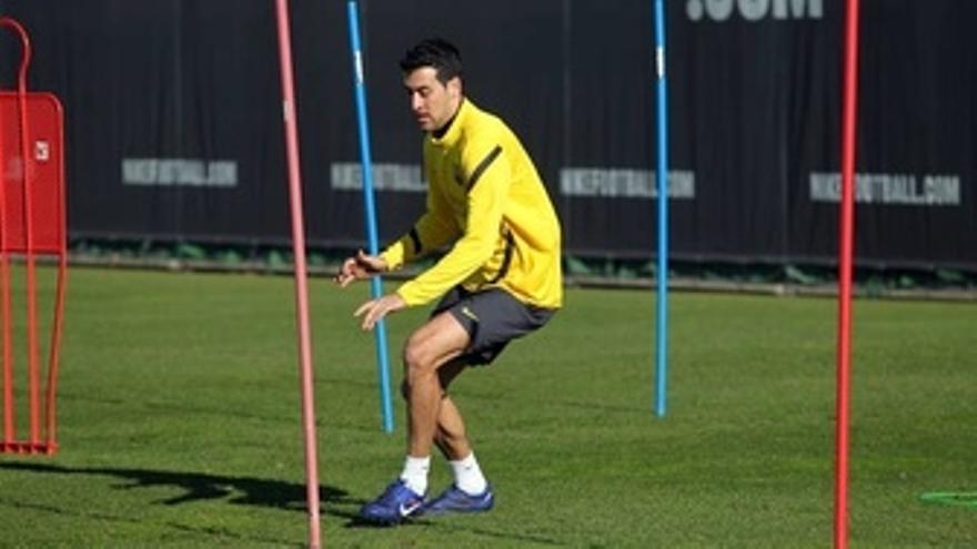 El Jugador Del FC Barcelona Sergio Busquets