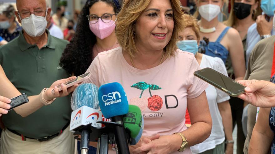 Susana Díaz acepta incorporarse al Senado como representante autonómica
