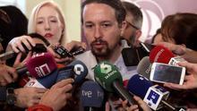 Iglesias pide a sus diputados que exijan ejemplaridad al Gobierno