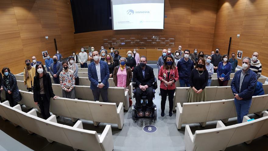 Fundación Caja Navarra y Fundación La Caixa presentan el programa 'Innova'