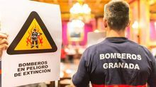 El nombramiento de cinco altos cargos enciende los ánimos entre los bomberos de Granada por la falta de personal de base