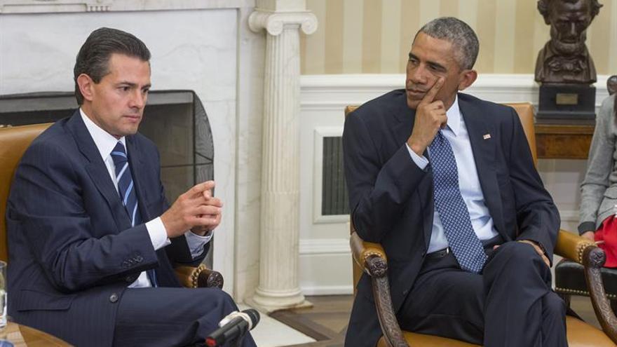 Obama y Peña Nieto hablarán de seguridad, inmigración y TPP en Washington