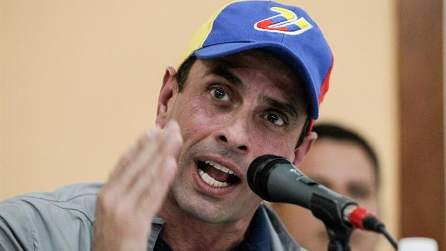 Capriles reitera que el diálogo en Venezuela debe dar resultados en una semana