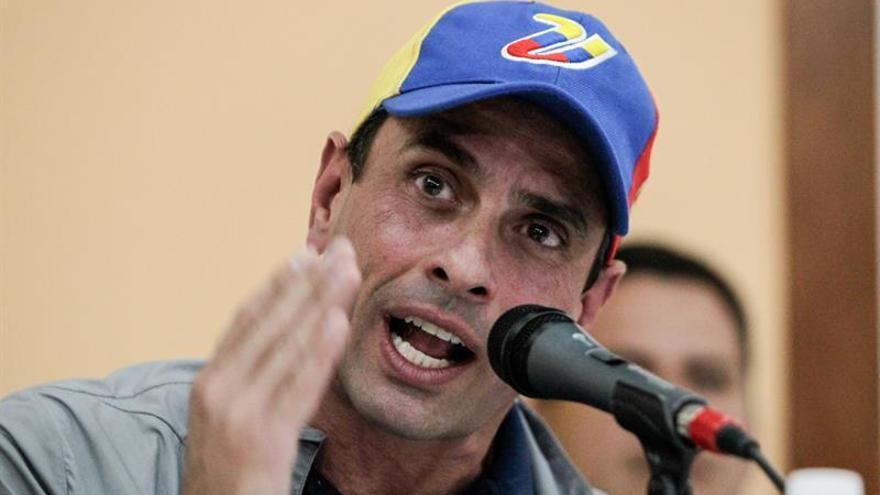 Capriles reitera que el diálogo en Venezuela debe dar resultados en una semana