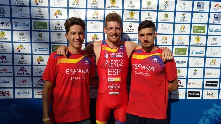Nicolás Puerta dedicó su triunfo a su hermano mellizo Ángel, quinto en línea de meta