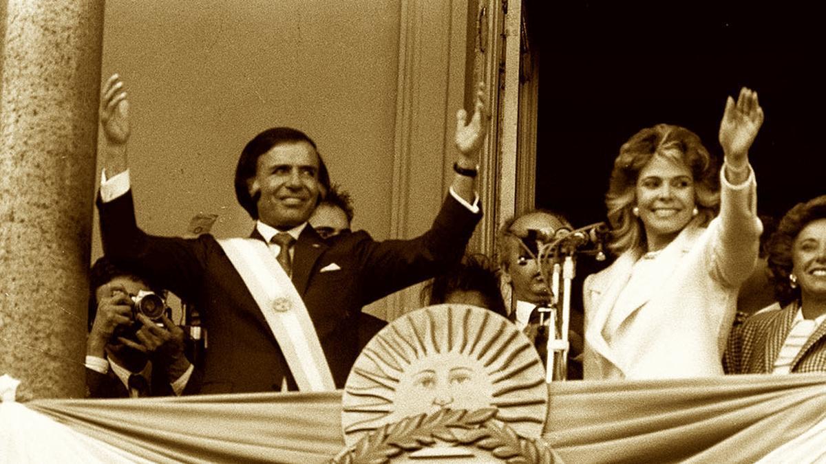 1989, el año que asumió Carlos Menem como presidente por primera vez