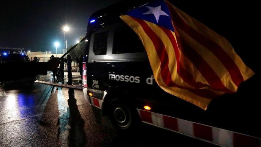 """Acusados del """"procés"""" denuncian """"tratos degradantes"""" en el traslado a Madrid"""