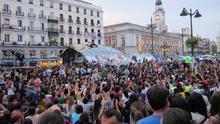 """La Comunidad de Madrid se opone a la placa por el 15M en Sol y el Ayuntamiento dice que recuerda """"un hecho histórico"""""""